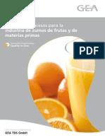 Zumos de Frutas (Proceso Industrial)