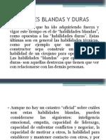 Habilidades Blandas y Duras