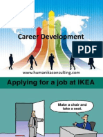 Career Development in training and development.