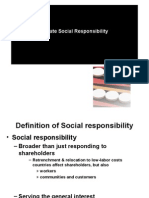 Social Responsibility Management