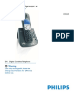 Philips Phone Manual