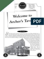 Archers Menu Changes 2-9-2012