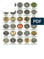 50 Monedas Del Mundo