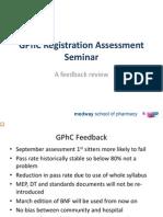 GPHC Feedback Template