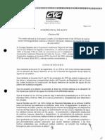 Acuerdo CD No 052 de 2011 Normas e Diques Riberanos