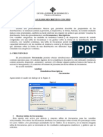 Analisis Descriptivo Con Spss