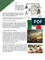 Fechas Memorables de Mexico