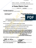 """Federal search warrant for """"Denver Players"""" set 1 or 2"""