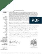 Donation Letter Business