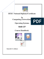 Operating Systems Handbook PART 1