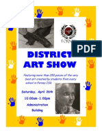 FISD Art Show 2014 - Elementary Version
