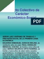 Conflicto Colectivo de Caracter Economico Soci
