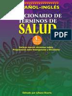 Diccionario de términos de salud Español Ingles