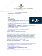 1a Proyecto de Investigacion - Protocolo USAT