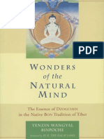 The Natural Mind -Essence of Dzogchen in the Tradition of Tibet