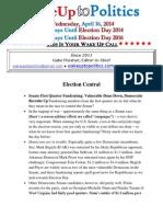 Wake Up to Politics - April 16, 2014