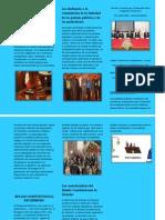 Triptico Estado Constitucional de Derecho