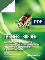 GreenPeace the Bees Burden April 2014