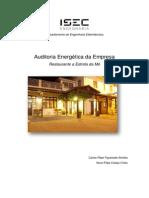 Auditoria energética Estrela da Mó Restaurante
