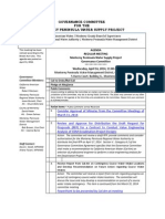 Governance Committee for the MPWSP Agenda Packet 04-16-14