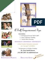 Positive Parenting Plus Promotional Flyer