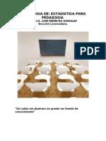 Antologia de Estadistica Pedagogia Nivel Licenciatura