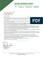 Letter to Gov. Cuomo, Contract, C1