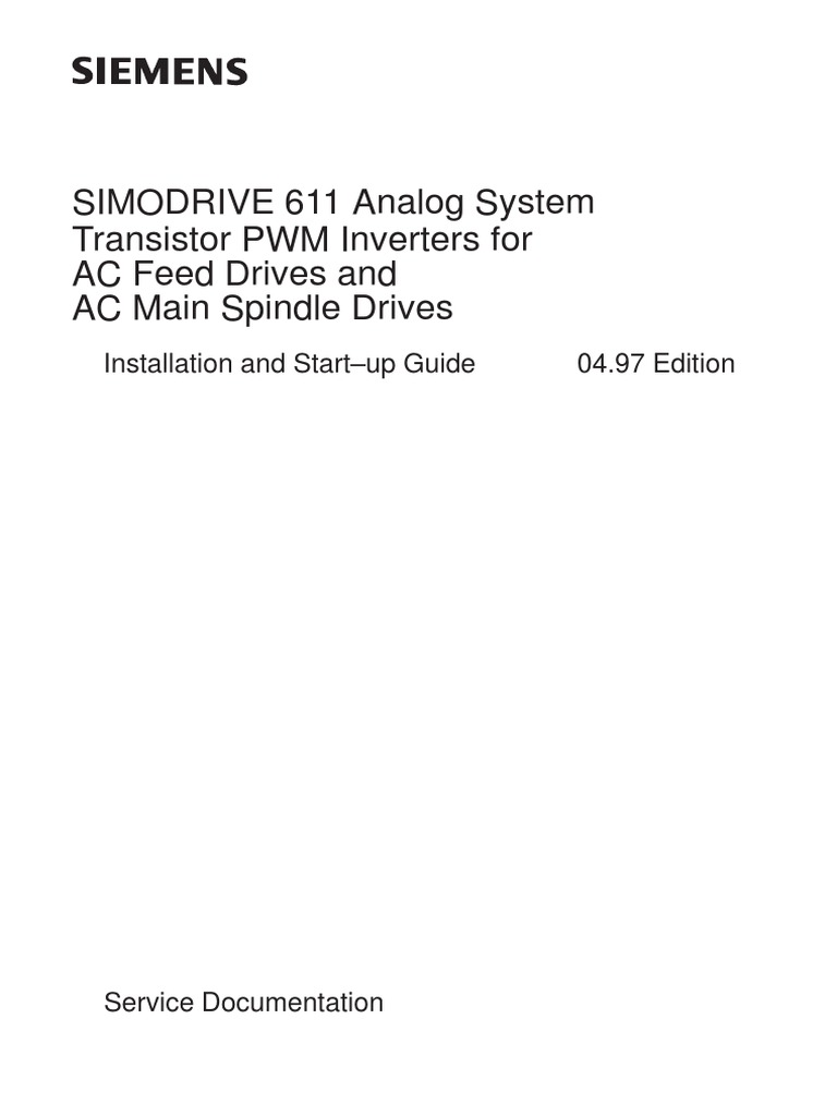 6sn1123 1aa00 0ca2 Lt Modul 50a Simodrive 611 Siemens Manual (1) |  Electrostatic Discharge | Power Supply