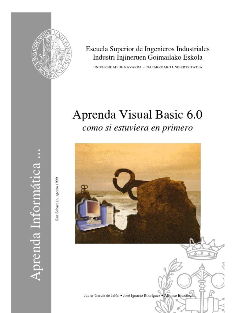 libro de oro de visual basic 6 0 orientado a bases de datos 2da ed