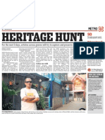 Heritage Hunt - Mid-day 29th Nov '09
