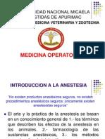 Anestesia i
