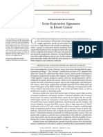 Gene-Expression Signatures in Breast Cancer