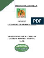 Empresa Agroindustrial Laredo - Aseguramiento de Calidad