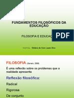 FILOSOFIA  - 1ª AULA. 2014