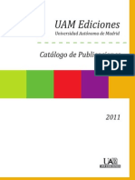 Catalogo UAM 2011 Web