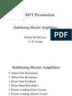 Rangkaian Pemancar Dengan MOSFET