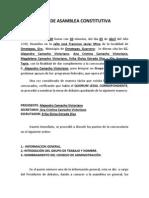 Acta Asamblea Constitutiva Alejandro