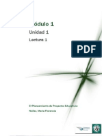 Lectura 1-Los desafíos del planeamiento y el diseño de proyectos