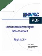 8- Morrow SAME Presentation Mar 14 NAVFAC SW