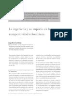 La Ingenieria Civil y Su Impacto en La Competitividad Colombiana.