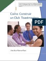 cómo abrir un club Toastmasters