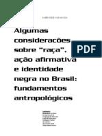 kabengele-munanga - Algumas considerações sobre 'raça', ação afirmativa e identidade negra no Brasil; fundamentos antropologicos