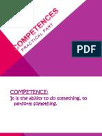 competences activity