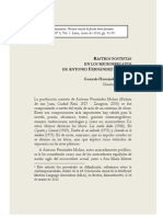 Rastros postistas en los microrrelatos de Antonio Fernández Molina, de Gonzalo Hernández Baptista