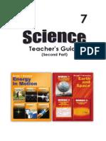 G7 Science Teachers Guide