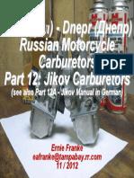 Part 12-Jikov Carburetor