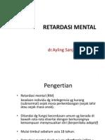 Ayling Kuliah Retardasi Mental-Handout