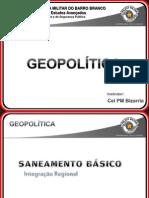 Ap Geopolítica - saneamento