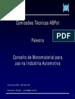 Monomaterial AbpolSP