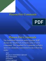 Platoon Fire Commands